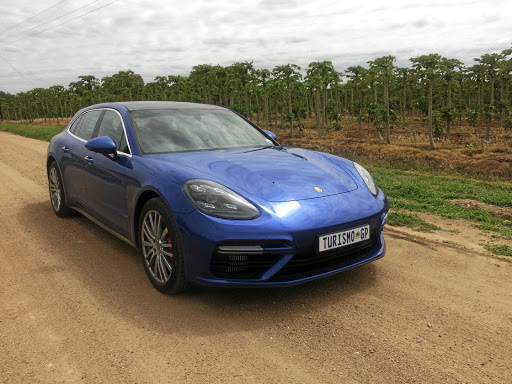 From the front the Sport Turismo is like any other Panamera