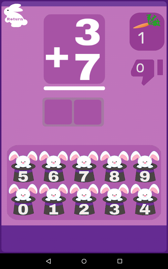 Addition subtraction Toothy- screenshot