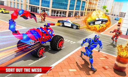 Scorpion Robot Monster Truck Transform Robot Games 2