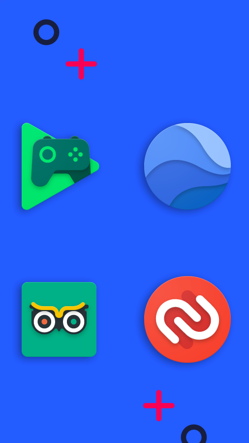 Frozy / Material Design Icon Pack Screenshot 6