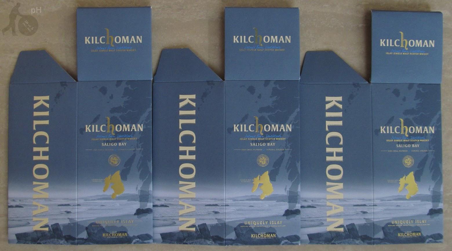 Kilchoman Saligo Bay - cartons
