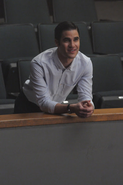 """Photo: GLEE: Blaine (Darren Criss) watches Kurt perform in the """"Choke"""" episode of GLEE airing Tuesday, May 1 (8:00-9:00 PM ET/PT) on FOX. ©2012 Fox Broadcasting Co. Cr: Mike Yarish/FOX"""