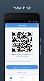 Copay Bitcoin Wallet - náhled