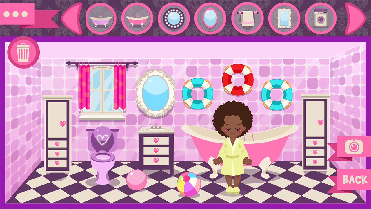 beach house decorating games screenshot - House Decorating Games