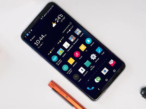 Screenshot for Andromeda Theme LG V30 G6 G5 V20 in United States Play Store