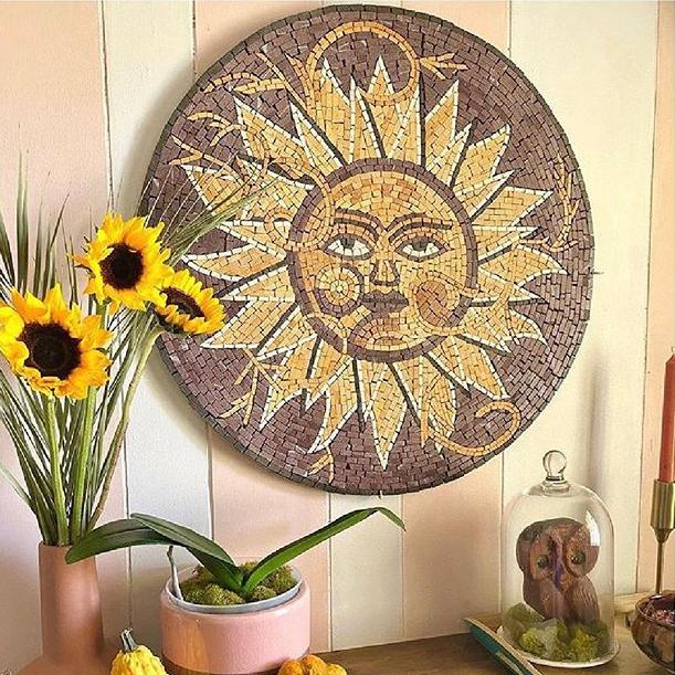 Jata - Sun Mosaic Rondure by Mozaico