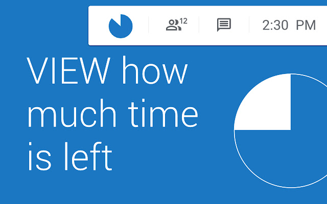 Google Meet Visual Timer