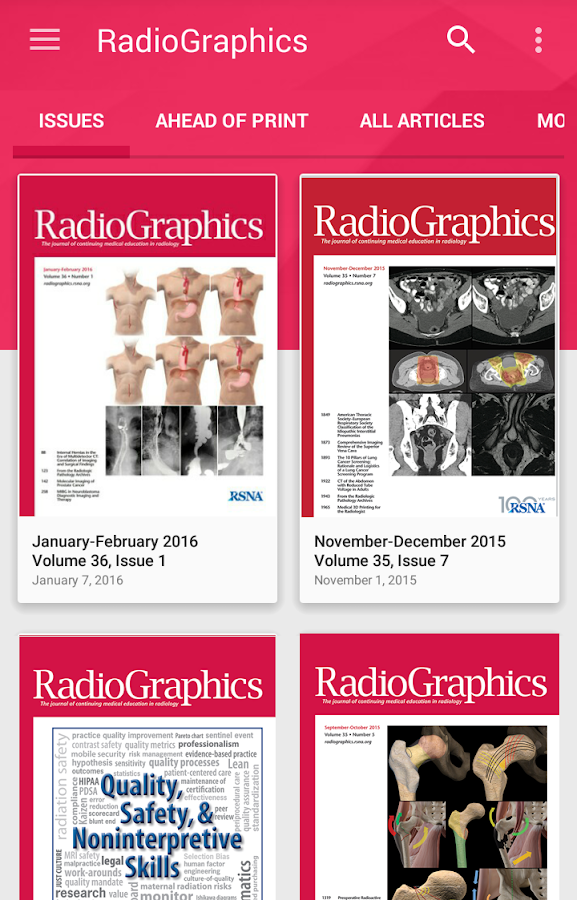 RadioGraphics- screenshot