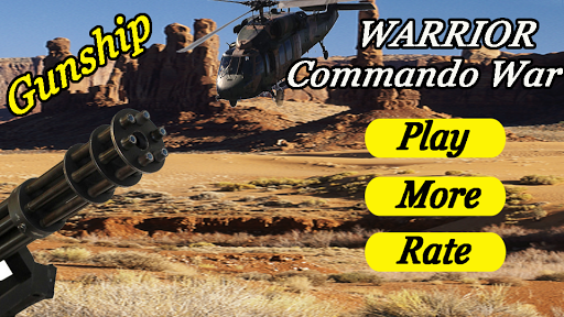 Warrior Commando War Gunship 1