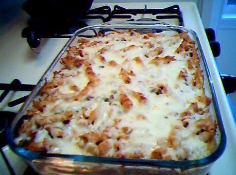 Easy Penne Pasta Casserole Recipe
