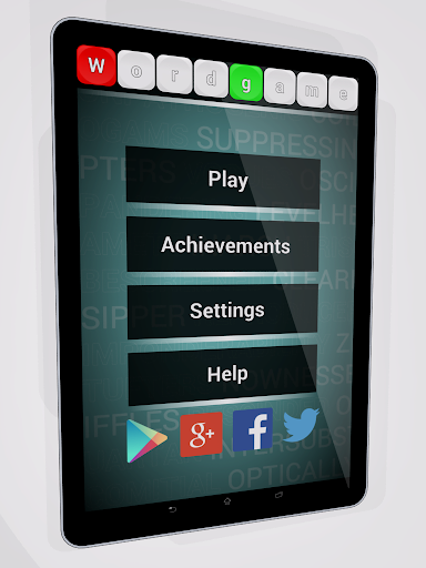 WordGame - word search game