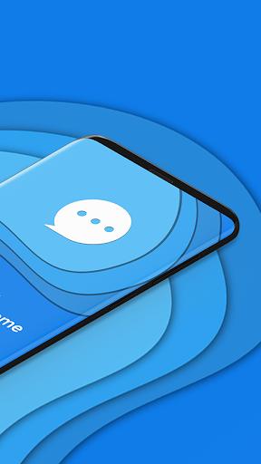 Messenger Home - SMS Widget and Home Screen 2.7.47 screenshots 2