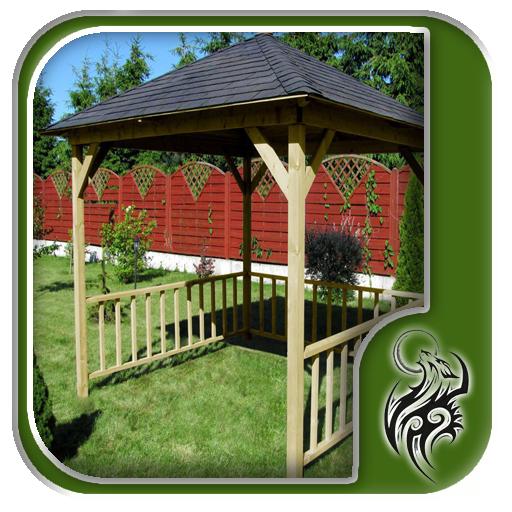 Wooden Garden Canopy Design