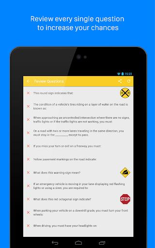 DMV Genie Permit Practice Test: Car & CDL  screenshots 11
