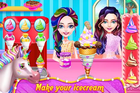 Einhorn Essen - Getränk & Outfits – Apps bei Google Play