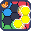 Hexa Block Ultimate - with spin! Logic Puzzle Game icon