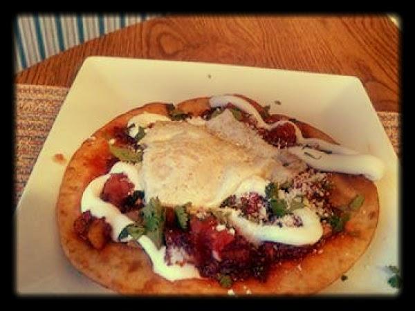 Breakfast Taco's W Chorizo, Potatoes & Fried Egg Recipe