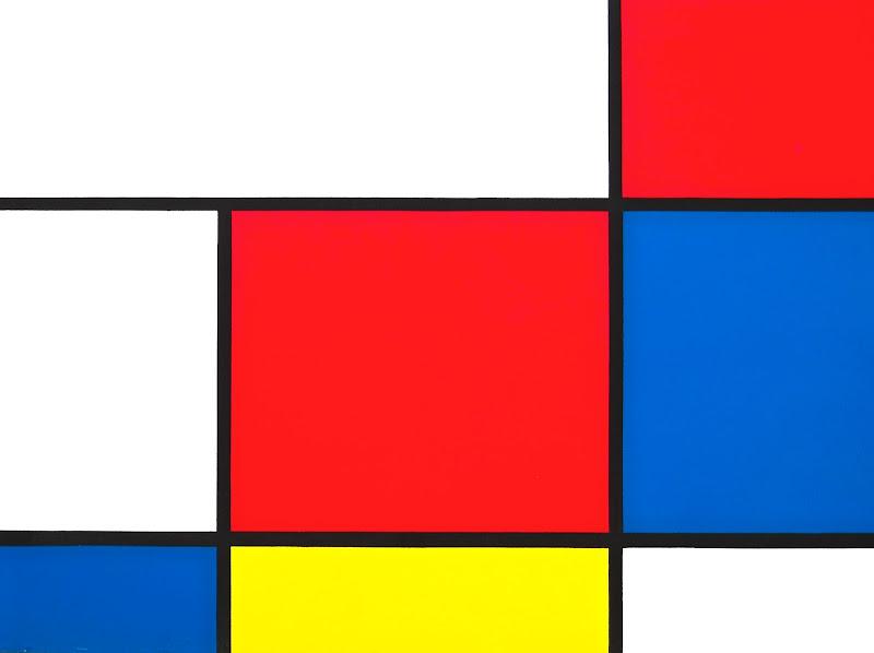 """Ricordando Mondrian """"Composizione in rosso, blu e giallo 1930"""" di Pinco_Pallino"""
