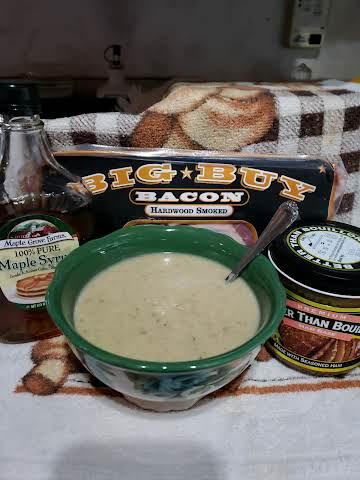 Cream of Bacon Soup