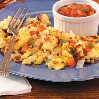 Fiesta Scrambled Eggs.
