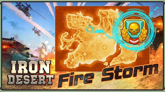 Iron Desert - Fire Storm screenshot 01