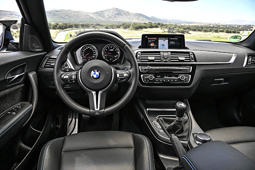 The interior is still not its best point but it's easily overlooked when the fun begins. Picture: BMW