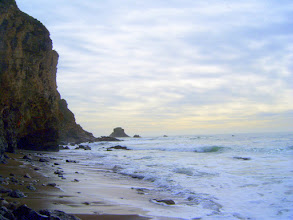 Photo: View from beach at Arch Rock, Pt. Reyes National Seashore