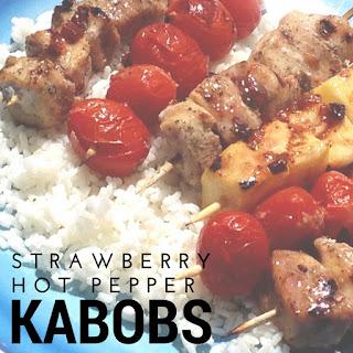 Strawberry Pepper Jam Kabobs Recipes