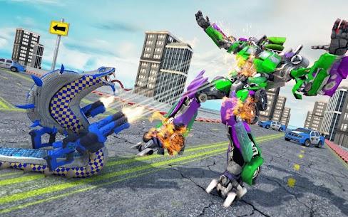Snake Robot Transform Battle 5