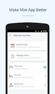 Goodbox Partner: Create an App - náhled