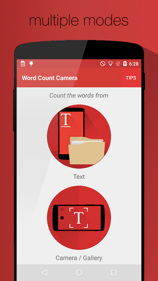 word count camera android apps on google play word count camera screenshot