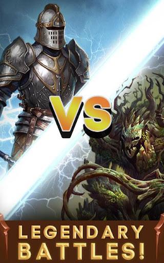 vortex: heroes of battle stones match-3 rpg screenshot 2
