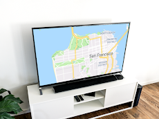 Maps on Chromecast    Map app for your TVのおすすめ画像1