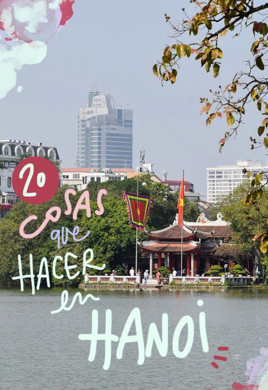 que ver y hacer en Hanoi