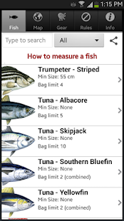 Tasmanian Sea Fishing Guide- screenshot thumbnail