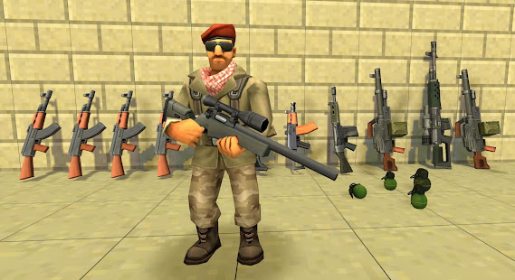 StrikeBox: Sandbox&Shooter мод