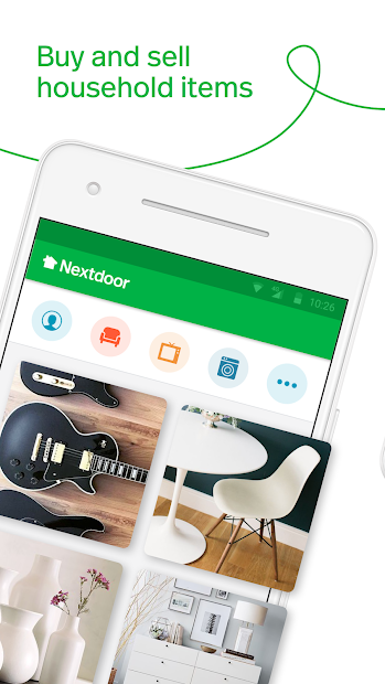 Nextdoor: Local News, Garage Sales & Home Services Android App Screenshot