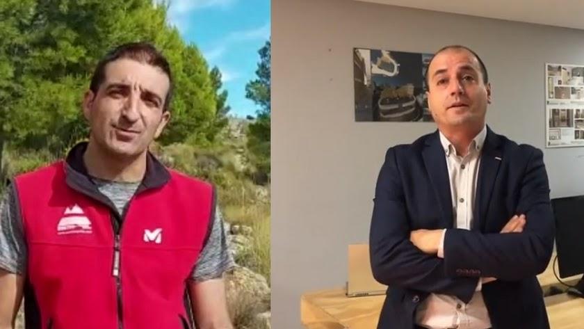 Carlos Gómez y Andrés Oller.