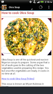 Nigerian food recipes android apps on google play nigerian food recipes screenshot thumbnail forumfinder Image collections