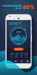 Volume Booster - Music Player MP3 with Equalizer - náhled