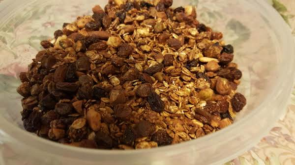 Low Fat Cherry Almond Granola Just A Pinch Recipes