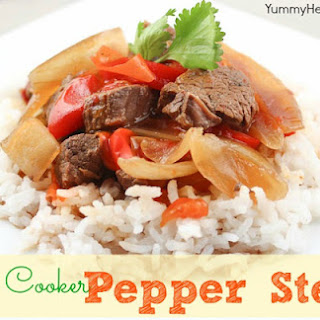 Slow Cooker Pepper Steak Healthy Recipes