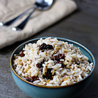 Overnight Breakfast Rice Pudding.