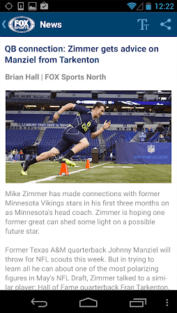 FOX Sports Mobile 2.0.4 screenshot 237194