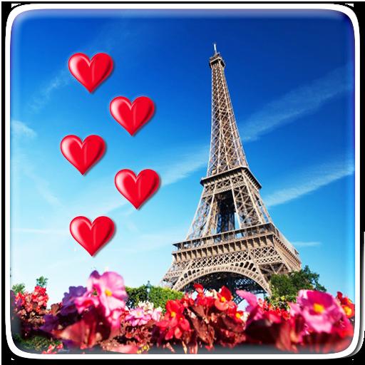 I Love Paris Live Wallpaper Icon