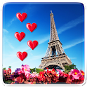 I Love Paris Live Wallpaper icon