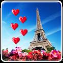 Eu Amo Paris Papel De Parede icon