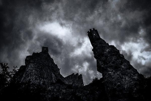 Affacciata dalla torre di Paolo Scabbia
