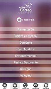 Achei Cartão screenshot 2