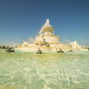 Scott jFountain by Donna Sparks - City,  Street & Park  Fountains ( belle isle, fountain, detroit )